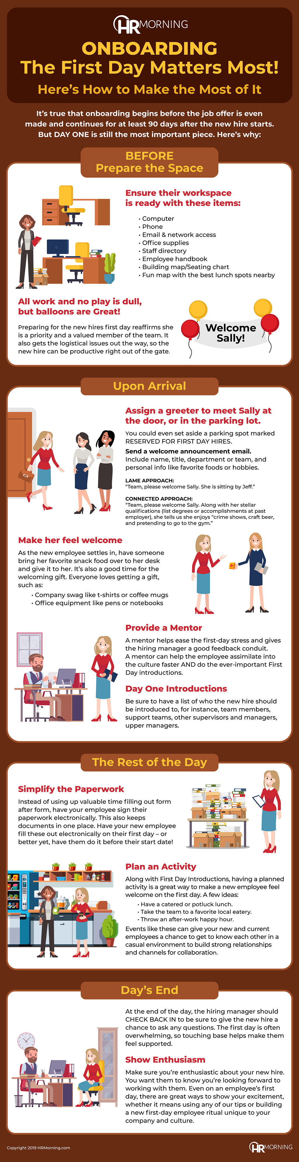 Onboarding: The First Day Matters Most! – Infographic