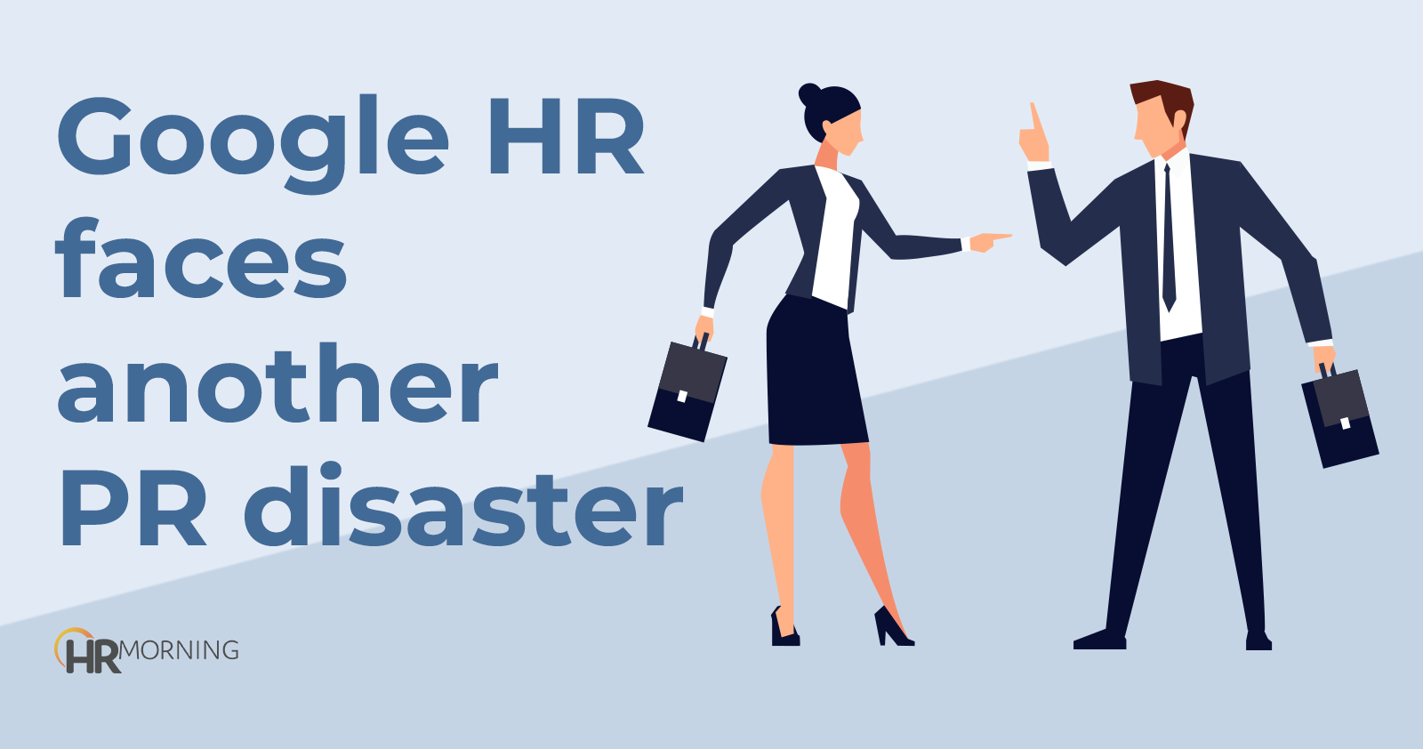 Google HR faces another PR disaster