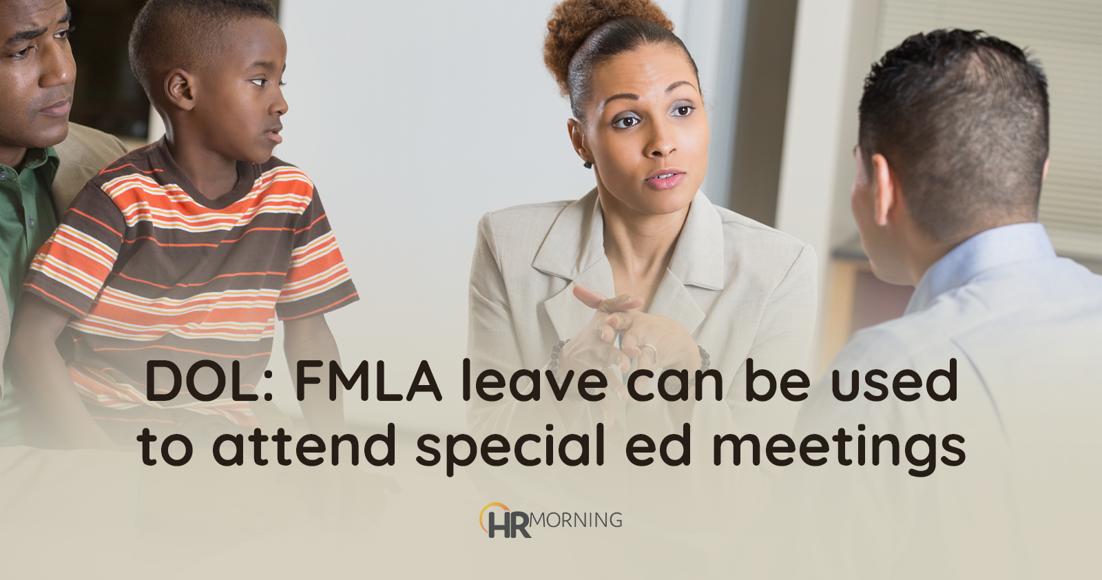 DOL: FMLA leave can be used to attend special ed meetings