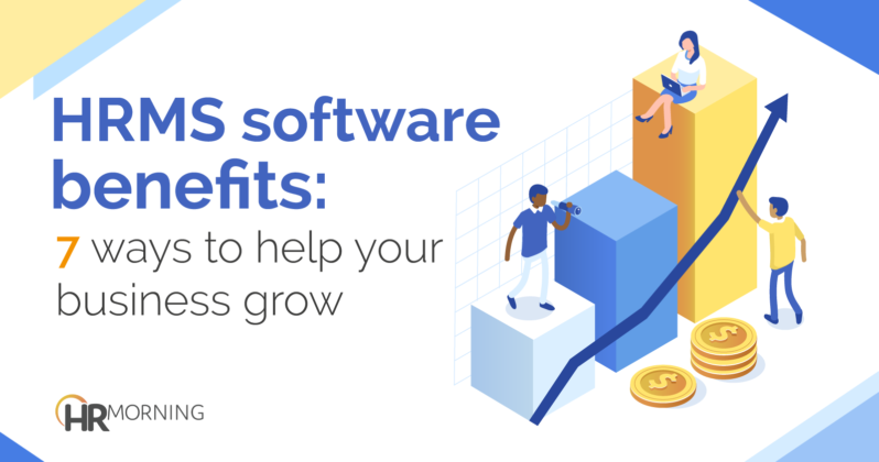 HRMS software benefits
