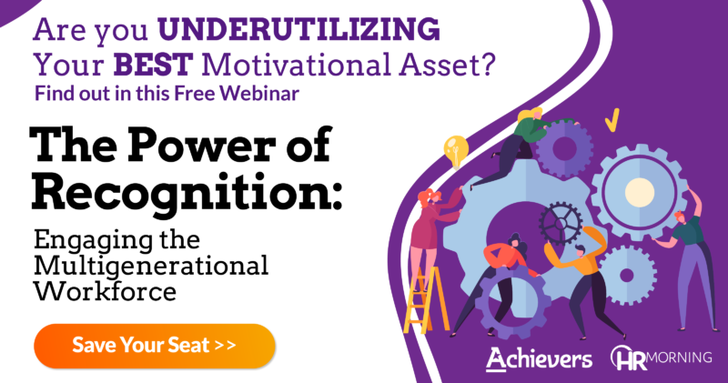 FREE Webinar: The Power of Recognition: Engaging the Multigenerational Workforce