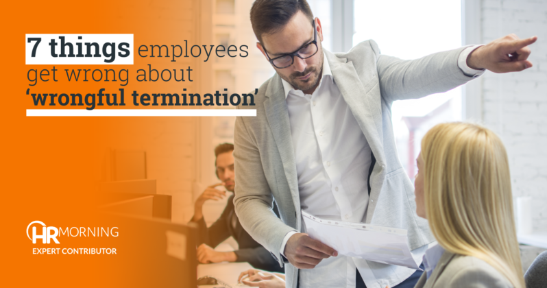 Things people get wrong about Wrongful Termination