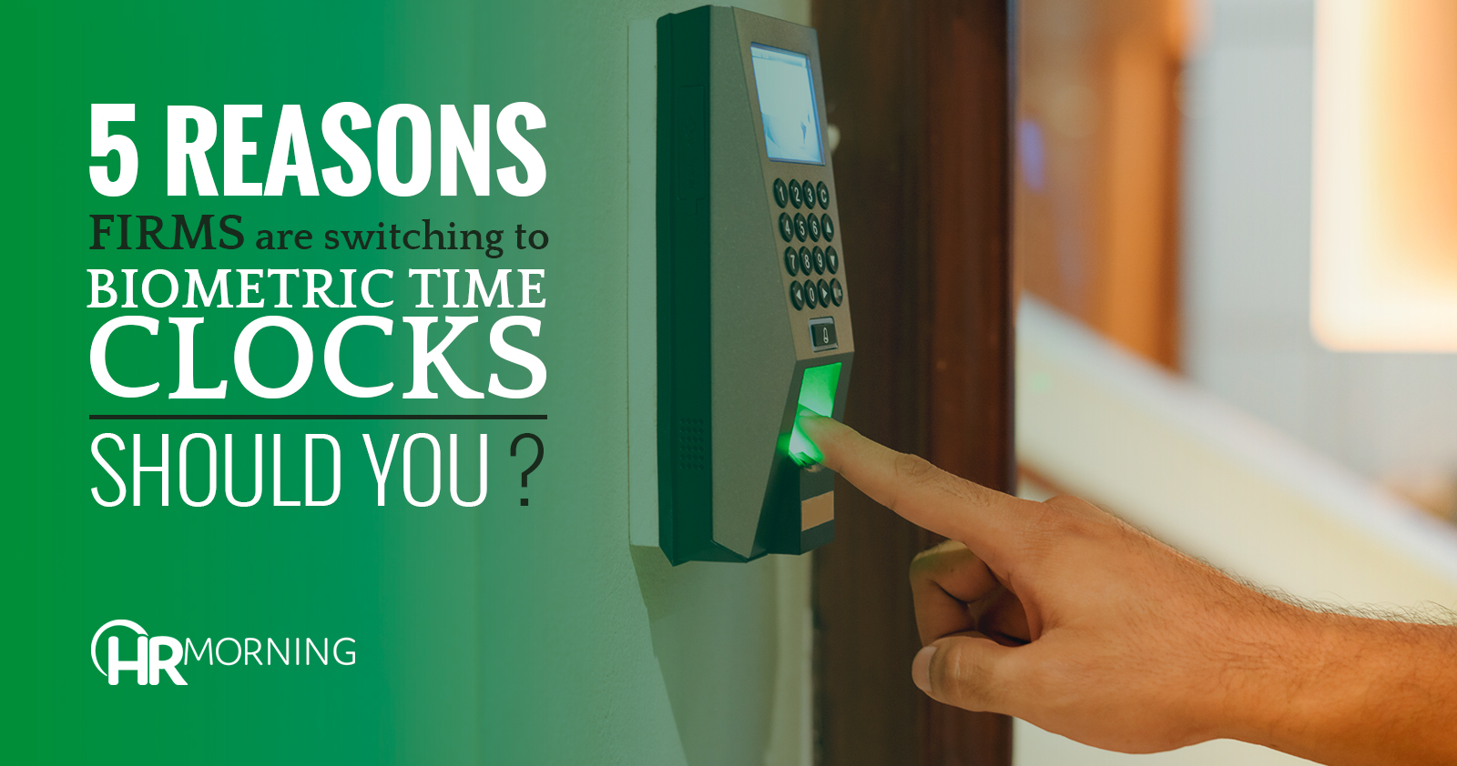 biometric time clocks