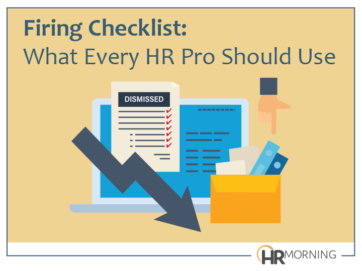 Firiing Checklist: That Every HR Pro Should Use