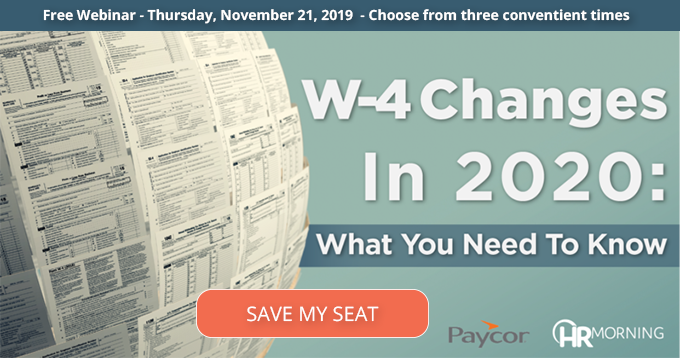W-4 Changes in 2020: What You Need to Know