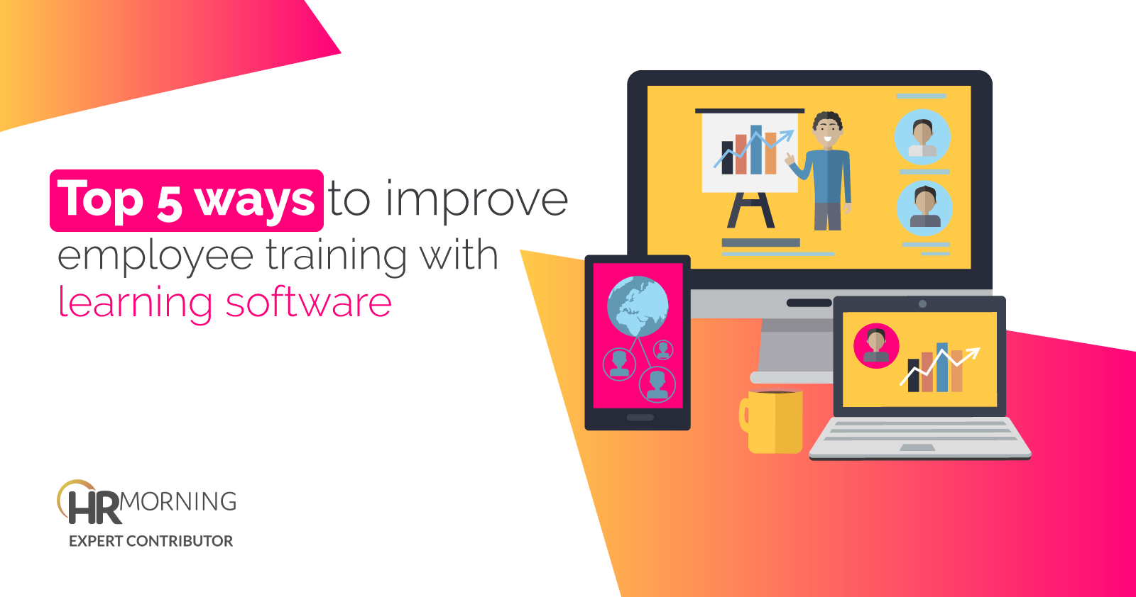Top 5 ways to improve employee training with learning software