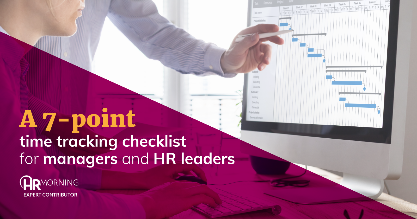 7-point time tracking checklist