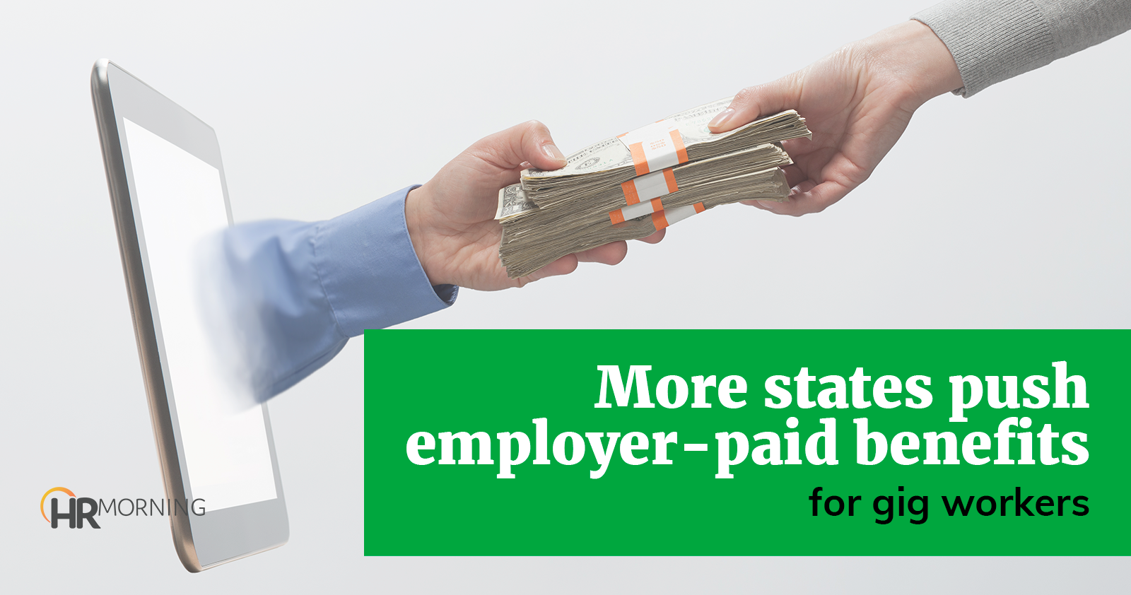 more states push employer paid benefits for gig workers
