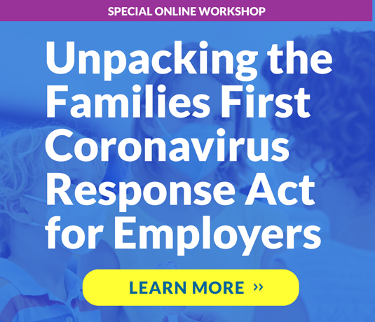 Unpacking the Families First Coronavirus Response Act for Employers