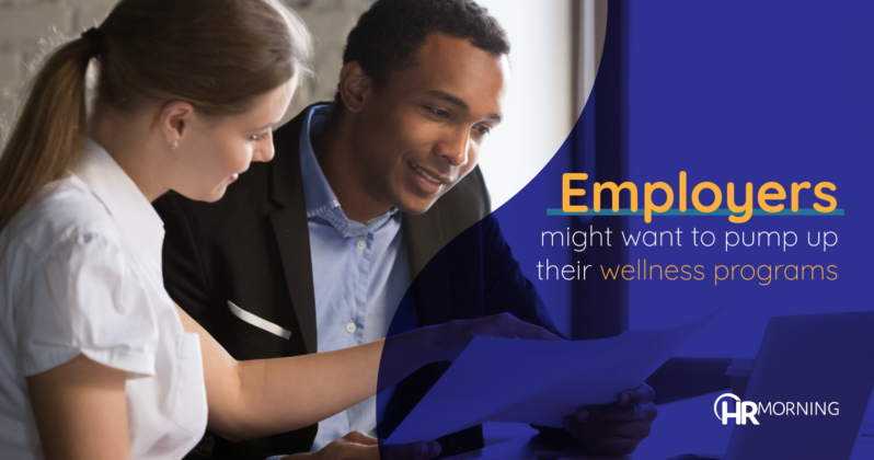 Employers may want to pump up their wellness programs