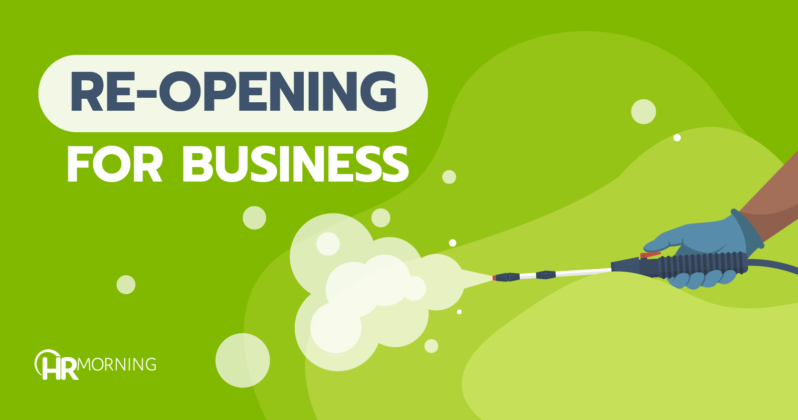 re-opening for business
