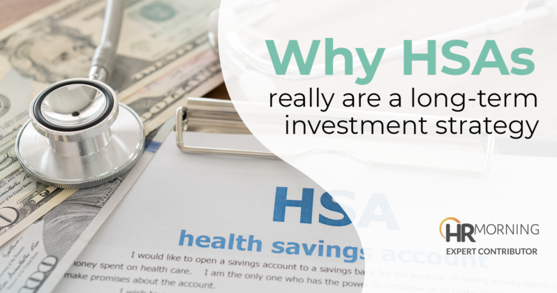 why HSAs really are a long term investment strategy
