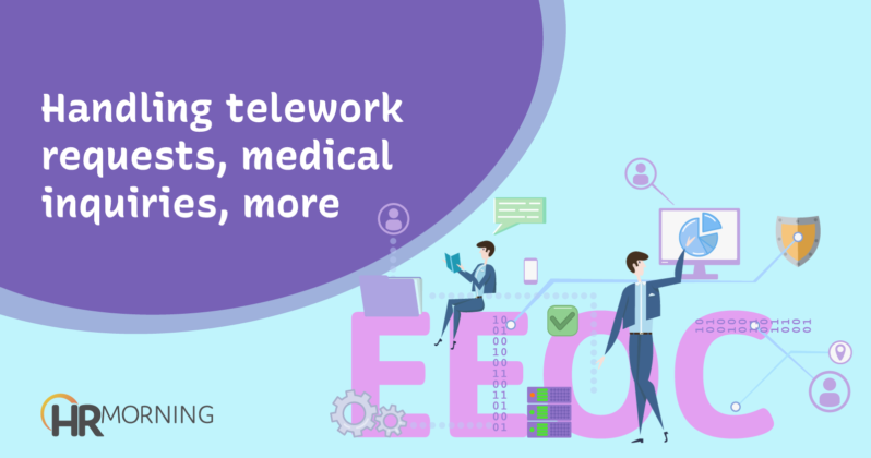handling telework requests medical inquiries more