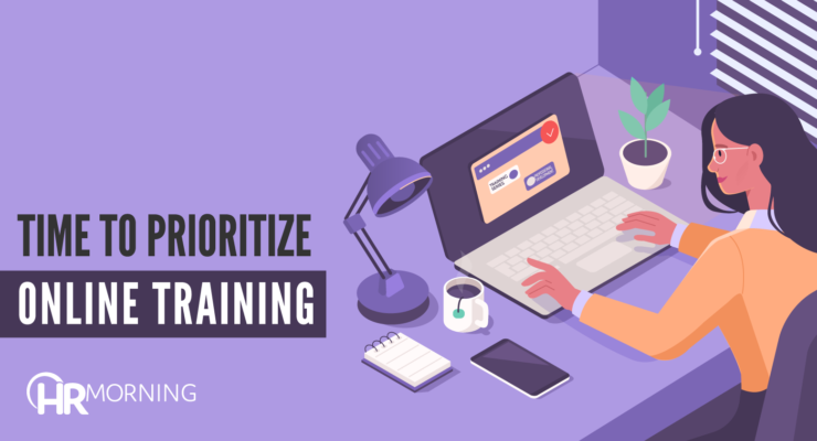 time to prioritize online training