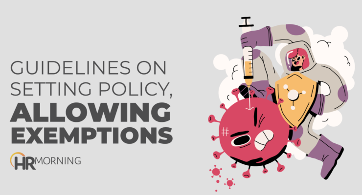 guidelines on setting policy allowing exemptions