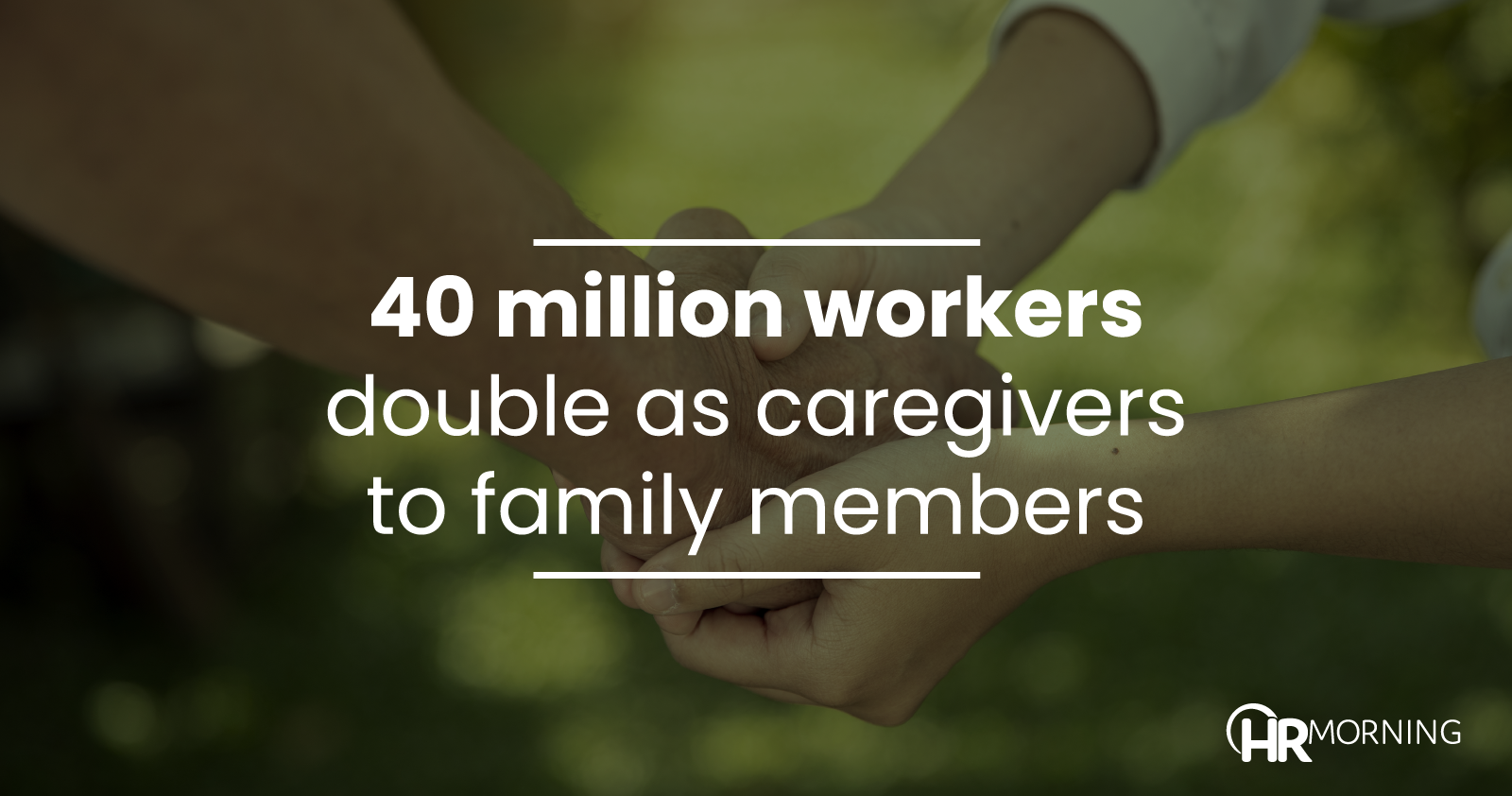 40 Million Workers Double As Caregivers To Family Members