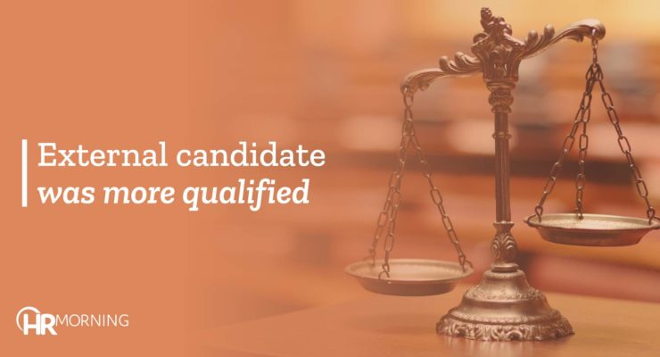 External Candidate Was More Qualified