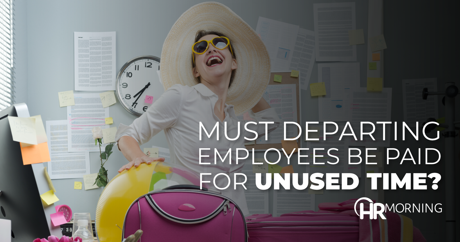 must departing employee be paid for unused time