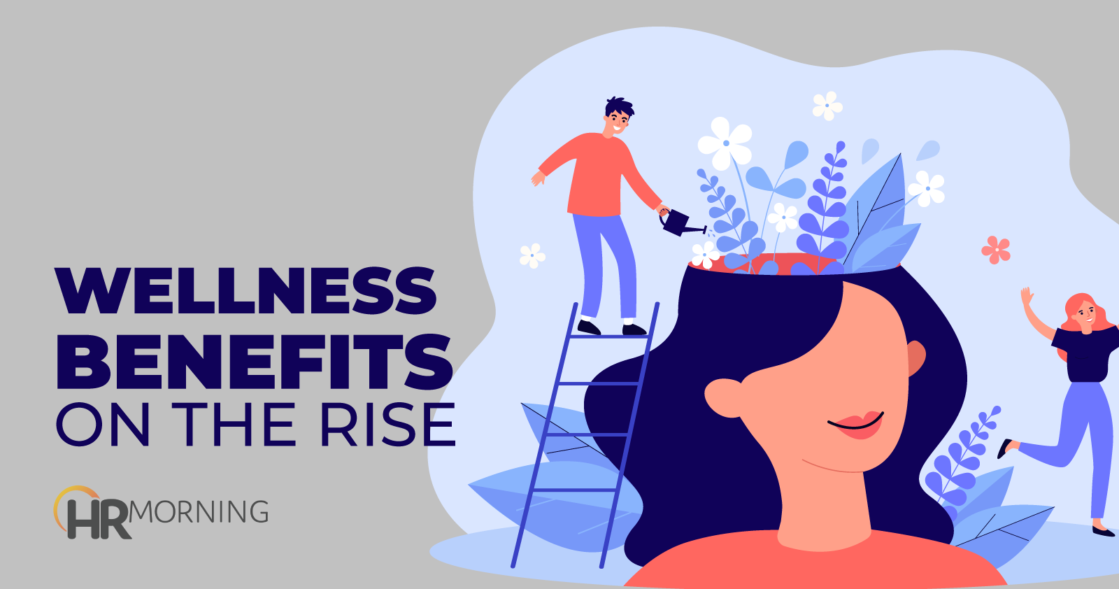 wellness benefits on the rise