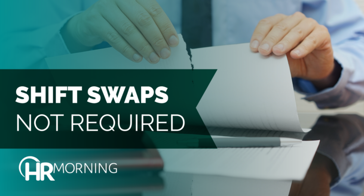 Shift Swaps Not Required