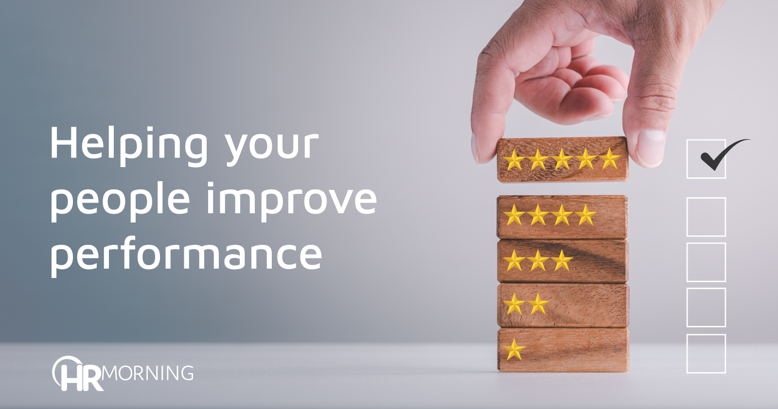 helping your people improve performance