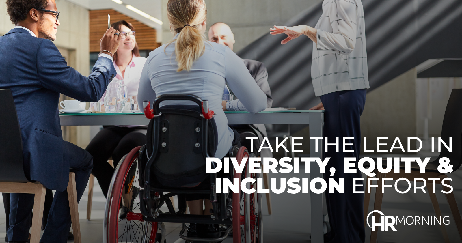 take the lead in diversity equity and inclusion efforts