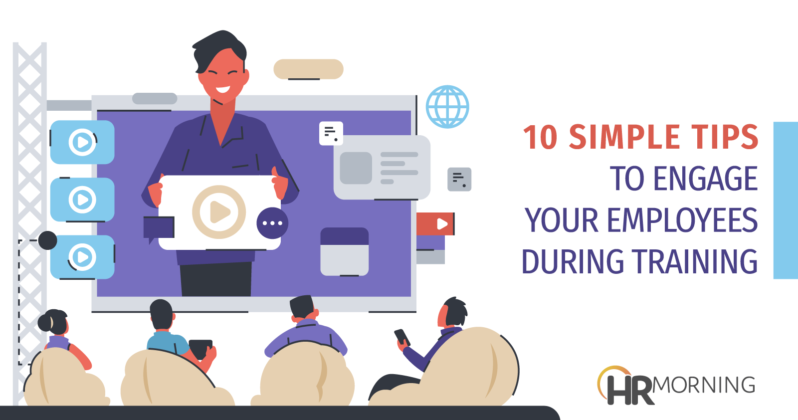 10 simple tips to engage your employees during training