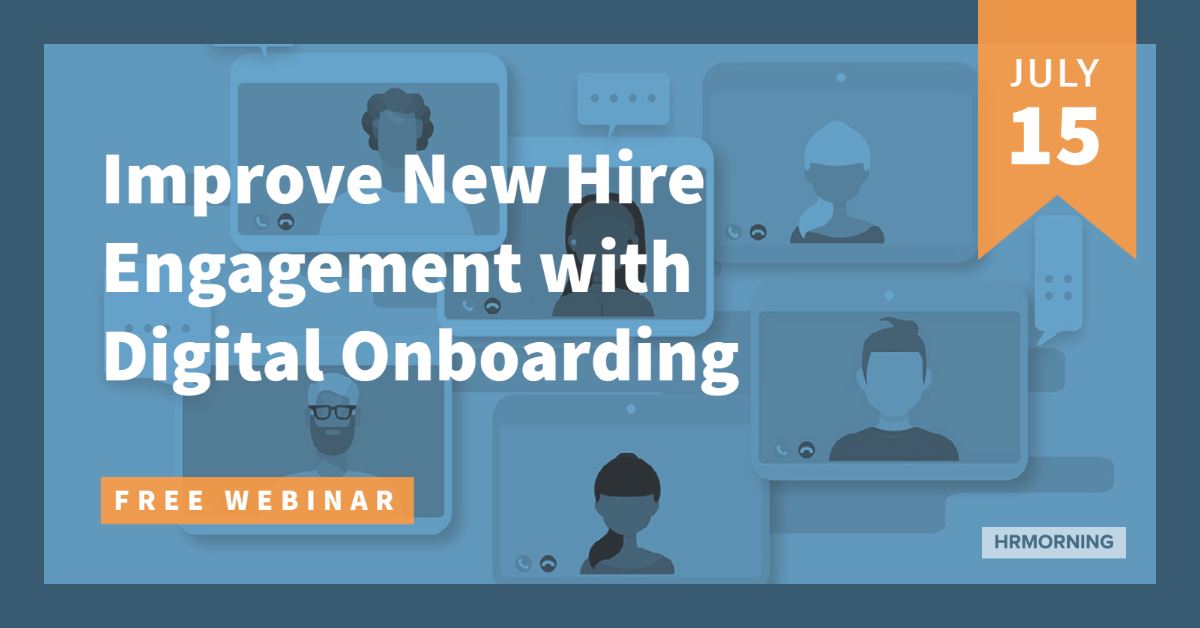 Webinar - Improve Your New Hire Engagement With Onboarding