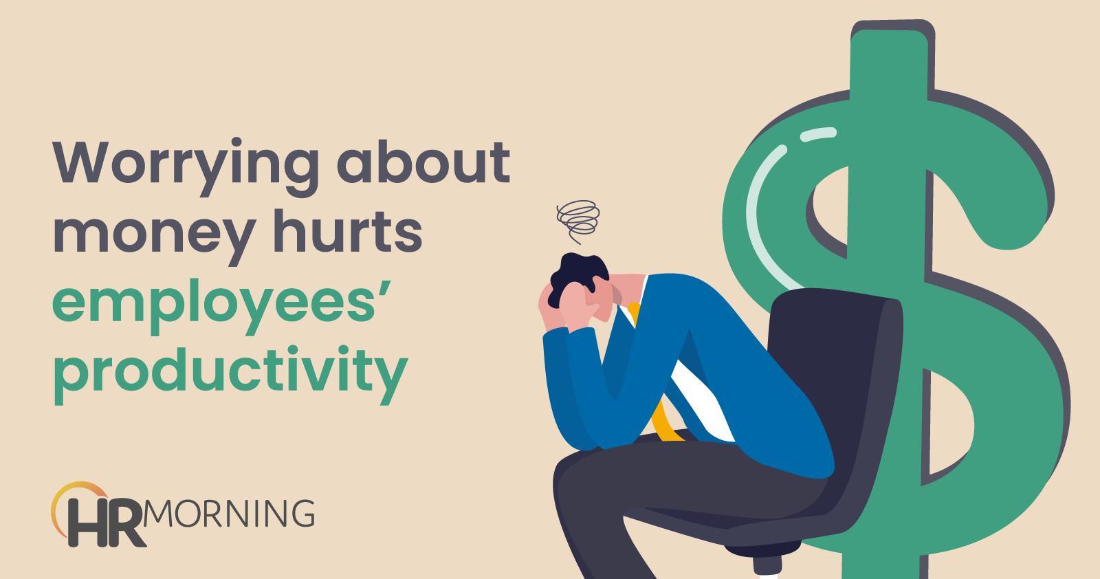 worrying about money hurts employees productivity