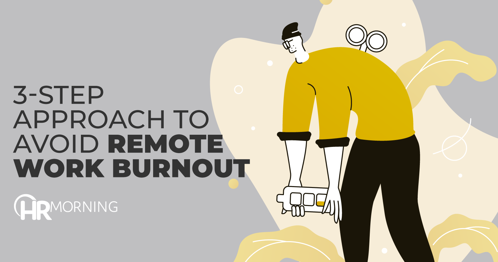 3 step approach to avoid remote work burnout